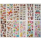 Childrens Party Bag Stickers Sheets Kids Many Designs 3d Puffy Scrap Book Play