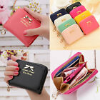 Women Mini Wallet Cards Keys Holder Coin Purse Clutch Bowknot Handbag Cardhord image