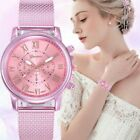 Fashion Luxury Women Waterproof Business Stainless Steel Lady Quartz Wrist Watch image