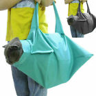 Cat Pet Carrier Pouch Out Travel Backpack Blue & Black H1I8