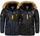 Geographical Norway Herren Winter jacke Parka Anorak Outdoor Mantel Luxus AGAROS