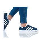 Adidas Originals NEW Gazelle Women's Trainers Lace up Suede Casual Shoes