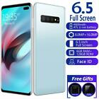 S10+ 6.5'' 6+128g Unlocked Smart Phone Android 9.1 Full Hd Dual Sim Mobile 4g