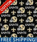 "New Orleans Saints NFL Cotton Fabric - 60"" Wide - Style# 6283 - Free Shipping!! $15.95 USD on eBay"