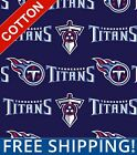 "Tennessee Titans NFL Cotton Fabric - 60"" Wide - Style# 70171 - Free Shipping!! $7.95 USD on eBay"