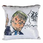 2019 Nicholas Cage Cushion Color Changing Pillow Cover Sequins Shiny Trump Putin