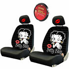 For Mazda Betty Boop Car Truck SUV Seat Headrest Steering Wheel Covers New $12.34 USD on eBay