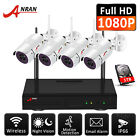 1080P Security Camera System Wireless Outdoor 4CH 7''Monitor NVR WIFI Home CCTV