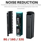 Digital Voice Recorder 8/16/32GB Hidden Auto Voice Activated Magnet Spy Device N