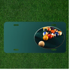 Custom Personalized License Plate Auto Tag With Pool Table Add Names $14.95 USD on eBay