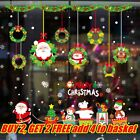Diy Home Decoration Christmas Removable Adhesive Window Decals Wall Stickers Uk