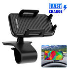 Qi Wireless Charger Car Dashboard Mount Holder HUD Design Cradle For iPhone 11 X