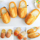 Unisex Indoor Slippers Lovers Bread Baguette Style Couples Shoes Warm Floor Wear