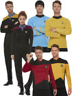 Adults Star Trek Costume Mens Ladies Voyager Command Next Generation Fancy Dress on eBay