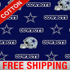 "Dallas Cowboys NFL Cotton Fabric - 58-60"" Wide - Style# 6313 - Free Shipping!! $15.95 USD on eBay"