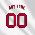 Cleveland indians Away White MLB jersey Any Name Any Number Pro Lettering Kit