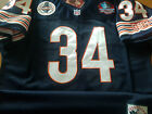 BRAND NEW Chicago Bears #34 Walter Payton Throwback Blue Dual Patch Jersey Mens $59.99 USD on eBay