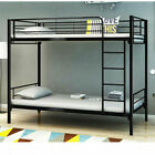 Austin Metal Single Bunk Bed - Student Apartment Single 3ft Twin Sleeper