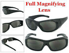 Wrap Around Tinted Full Lens Safety Reading Glasses Sunglasses Z87.1