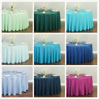 Внешний вид - Bargain Sale 120 in. Round Polyester Tablecloth Wedding Event Party - Very New