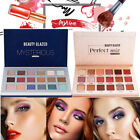 Beauty Glazed 18 Color Highlight Matte Eye Shadow Eyeshadow Palette Cosmetic Lot