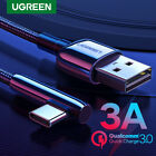 Ugreen 90 Degree Type C to USB A Cable QC3.0 Fast Charging...