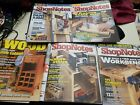 Woodworking magazines (Woodsmith, Shopnotes, Workbench, Hands on, & Wood)