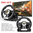 Windows PC Xbox Switch PXN V3II Racing Game Steering Wheel Foldable Brake Pedal