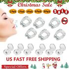 Silicone Magnetic Anti Snore Stop Snoring Nose Clip Sleeping Aid Apnea Guard Lot