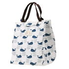 Canvas Tote Bag  Portable Thermal Lunchbox for Office/School Neu
