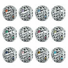 BEAUTIFUL BIRTHSTONE Pandora NEW STYLE CHARM 100% S925 With Pandora Pouch image