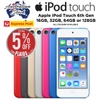 apple ipod touch 6th gen 16gb 32gb 64gb 128gb all colours express post