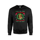 Mike Tyson Christmas Jumper - Funny Boxer Boxing Match Sweatshirt Novelty