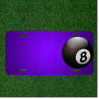 Custom Personalized License Plate With Add Names To Billiards Magic Pool $14.95 USD on eBay