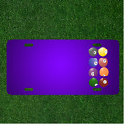 Custom Personalized License Plate With Add Names To Billiards Sphere Sport $14.95 USD on eBay