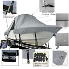 TIDEWATER 250CC Adventure Center Console T-Top Hard-Top Fishing Boat Cover