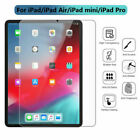 Tempered GLASS Screen Protector For iPad 2/3/4 Mini Air 3 Pro 4th 5th 6th 7th IL