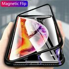Magnetic Metal Protective Absorption Case For iPhone 11 Pro Max Bumper Cover