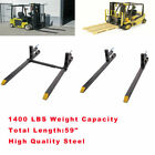 Kyпить LW Clamp on Loader Buck Pallet Forks 1400 lb Capacity Loader Bucket Tractor на еВаy.соm