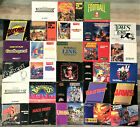 Kyпить Authentic Nintendo NES Manuals Booklets - Good - 28 to Pick From, You Choose на еВаy.соm