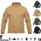 Windproof Mens Thick Warm Polar Fleece Jacket Army Tactical Casual Coat Hiking