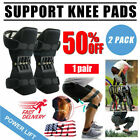 2x Joint Support Knee Pads Non-slip Power Lift Rebound Spring Force Unisex 2020