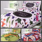 5PC BEDROOM KIDS BED IN A BAG COMFORTER  SHEET COMPLETE BEDDING SET TWIN SIZE