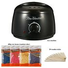 Professional Wax Warmer Heater Hair Removal Depilatory Home Waxing Kit Beans