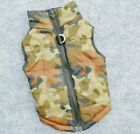 Warm Winter puffer vest jacket for dogs camo various size you choose