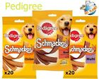 PEDIGREE SCHMACKOS BEEF FISH MULTI POULTRY DOG TREATS COMPLIMENTARY DOG FOOD