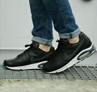 Nike Air Max Command Leather Men's Trainers Shoes Black/Neutral Grey