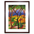 Franz Marc Weasels Playing 1911 Old Master Framed Wall Art Print