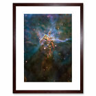 Hubble Space Telescope Mystic Mountain Framed Wall Art Print