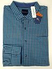 NWT $140 Tommy Bahama LS Blue Check Plaid Shirt Mens Button NEW